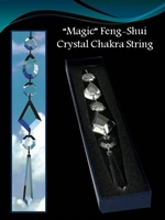 Feng-Shui Crystal Chakra String - 'Magic'  (per stuk)