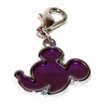 Be Charmed Hanger - Mickey Mouse Silhouet (paars) (per hanger)